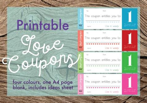 printable love coupons love tokens blank love coupons