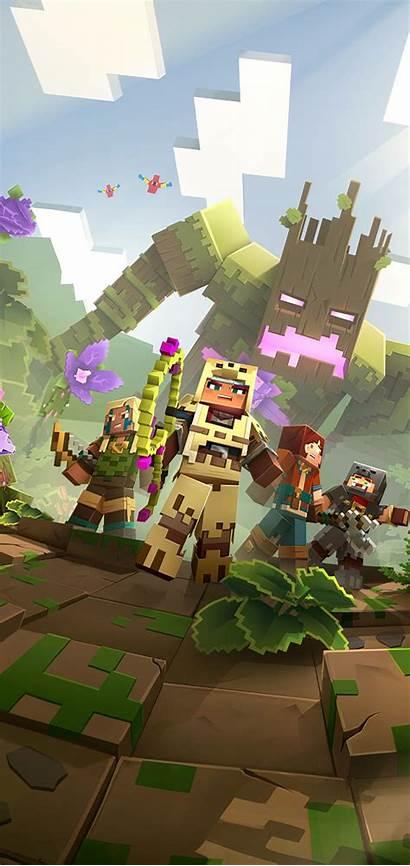 Minecraft Dungeons Wallpapers Hero Awakens Jungle 4k