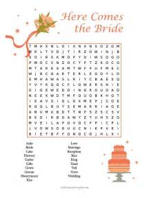 wedding words wedding word search