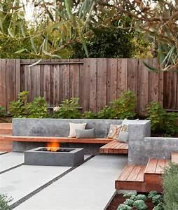 Wie richtig eine terrasse anlegen wichtige schritte zur for Feuerstelle garten mit paravent sichtschutz balkon