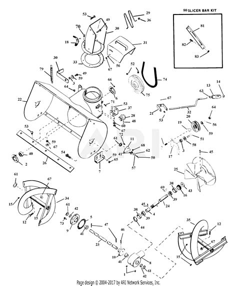 Ariens Tec Blower Parts