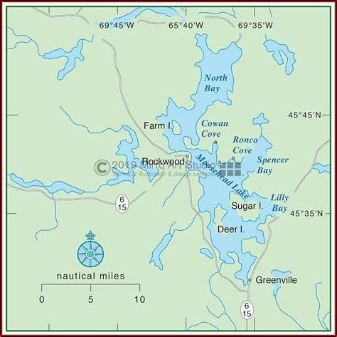 moosehead lake depth map map resume examples govlbpva