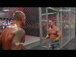 John Cena vs Randy Orton HELL IN A CELL 2014 - YouTube