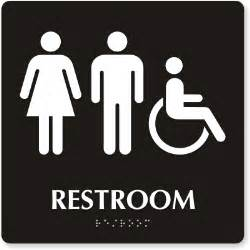 restrooms signs printables clipart best