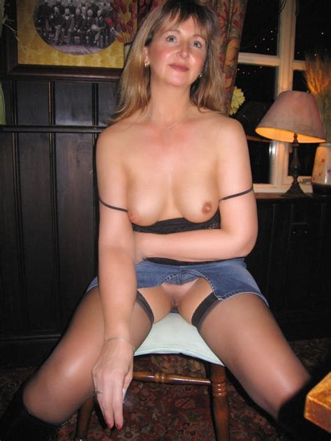 Mature Woman With Tight Shaved Pussy At