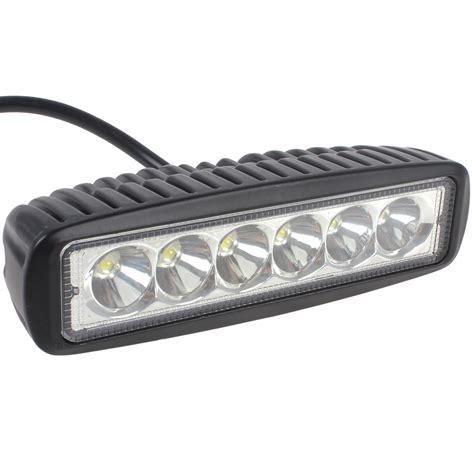 1550lm mini 6 inch 18w 12v 24v cree led work light bar led