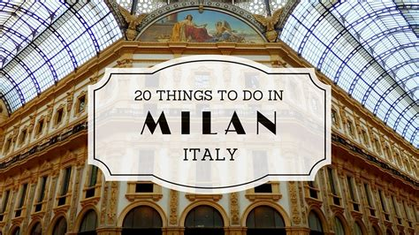 italie cuisine 20 things to do in milan italy travel guide