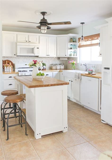 budget friendly kitchen makeovers reveal and tour of a farmhouse style kitchen makeover on a 4950