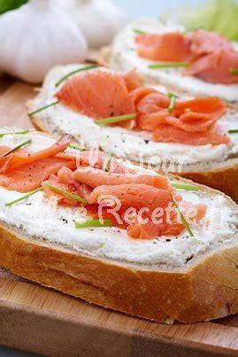 recette canapé saumon bruschetta