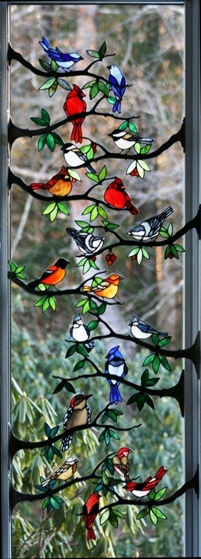 deco mirror stained glass birds 43 exles of gorgeous stained