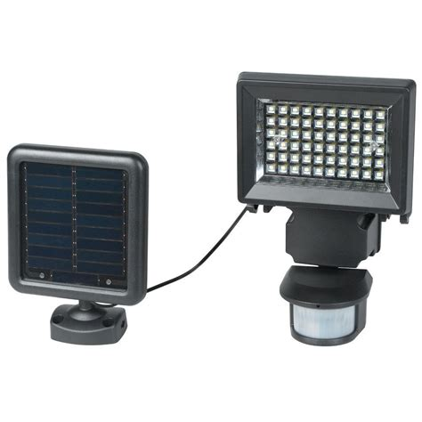 solar security lights eleding self contained 160 degree black motion activated