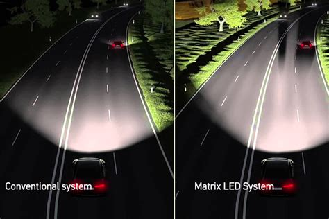 audi matrix headlights audi matrix led headlight technology does it work