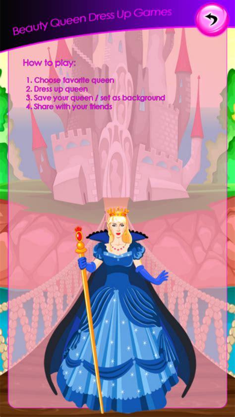 beauty queen dress  games