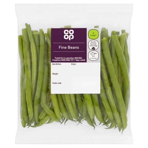 Co-op Fine Green Beans 188g - Co-op