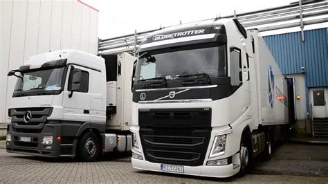 new volvo truck 2016 first road in 2014 new volvo fh youtube