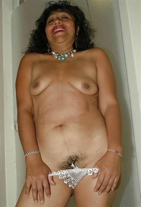 Mature porn pictures - Old Mexican granny with small saggy..
