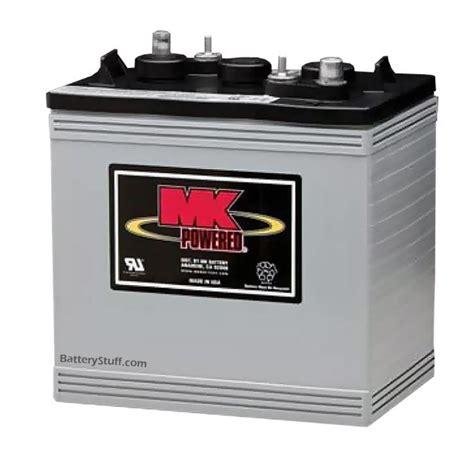 agm battery volt cycle deep marine batteries rv ah mk boat