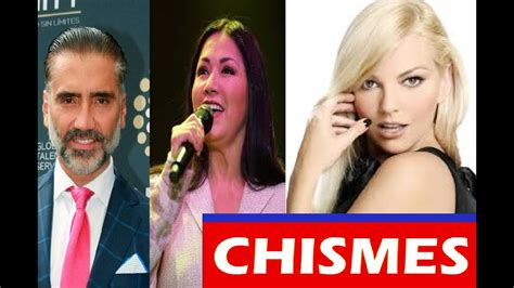 8 CHISMES DE FAMOSOS Noticias Recientes Farandula