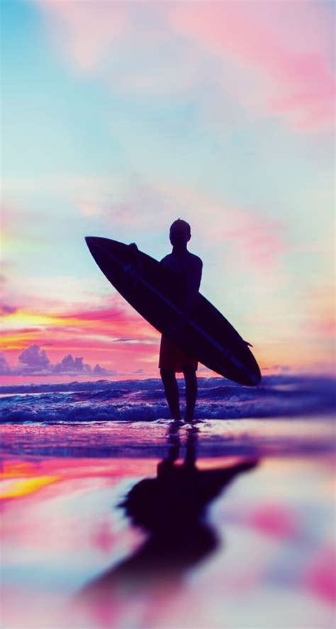 surfing silhouettes images  pinterest surf