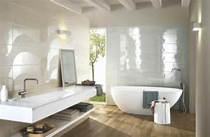 handmade collection gloss effect bathroom walls ragno With carrelage salle de bain blanc brillant