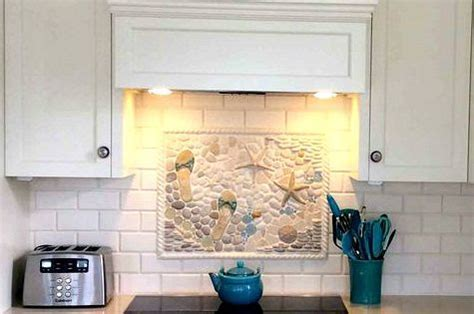 Coastal Kitchen Backsplash Ideas with Tiles: http://www
