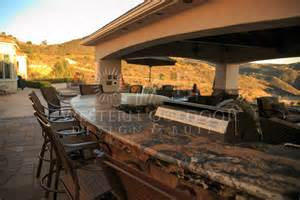 kitchen designs with islands and bars outdoor kitchens gallery western outdoor design and build