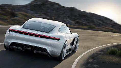 Weltpremiere Für Den Porsche Mission E
