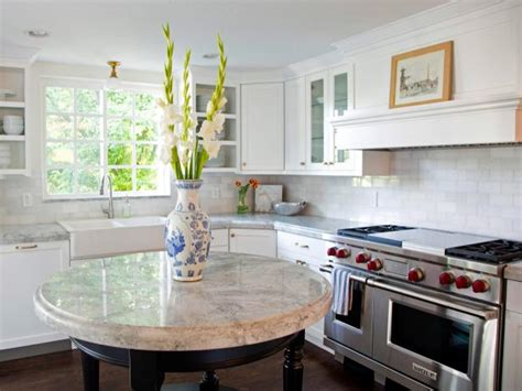 Round Kitchen Islands: Pictures, Ideas & Tips From HGTV