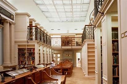 Library Peterhouse Cambridge College University Ward Books