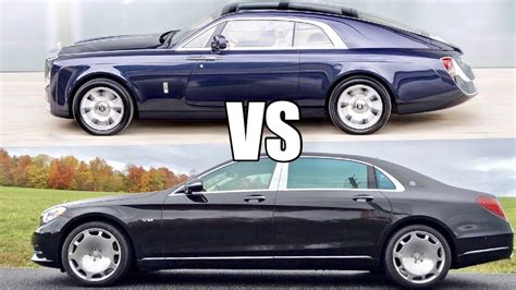 Rolls Royce Vs Maybach by 13m Rolls Royce Sweptail Vs 200k Maybach S600 Which Is