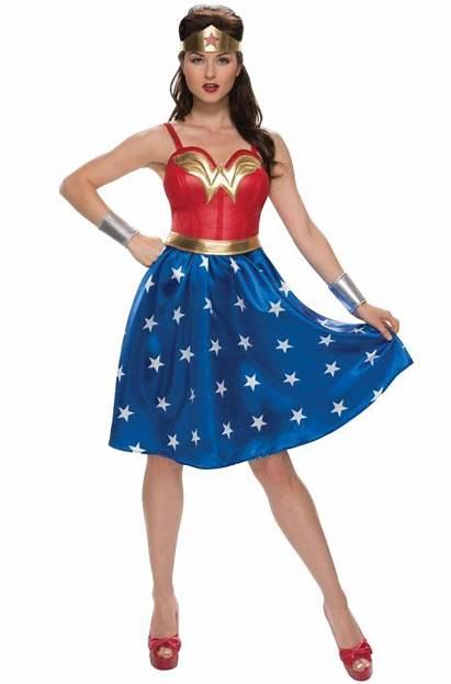 Costume Halloween Woman Wonder 1940s