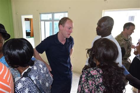 governor  british virgin islands visits adventist church