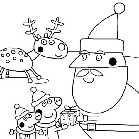 30 Printable Peppa Pig Coloring Pages You Wont Find