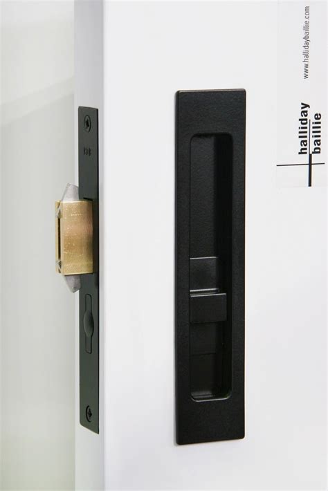 sliding door hardware hb  privacy lock halliday