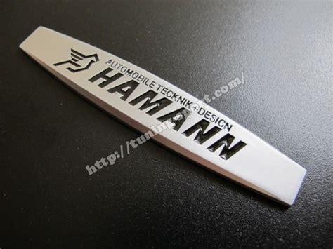 Emblem For Fender Hamann