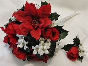 Wedding Bouquets: Red And White Wedding Bouquets