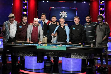 wsop main event final table 2017 meet the july nine 2017 wsop main event final table bios