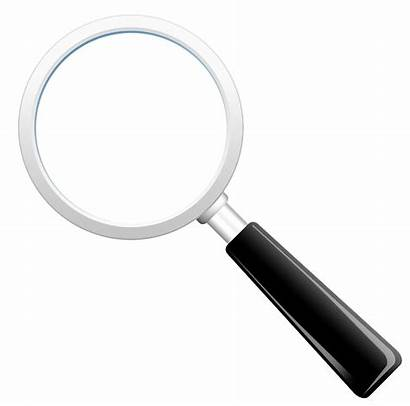 Magnifying Glass Transparent Loupe Magnify Background Template