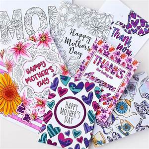 Mother's Day Coloring Bundle | Bookmarks, Cards, Coupons ...