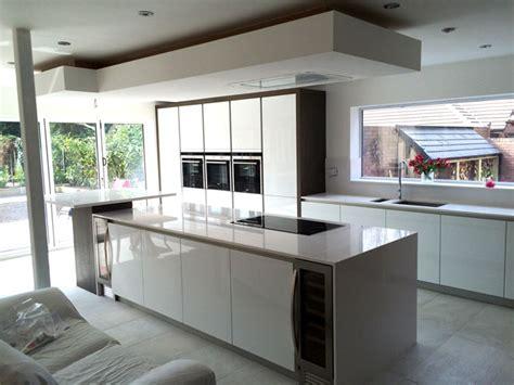 German Kitchens by Design   Gala Crystal White L091 High