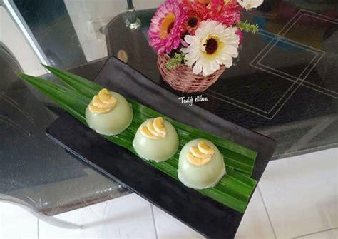 500 ml santan kental (dari 1 btr. Resep Kue Talam Tepung Beras Pandan oleh Tanty's Kitchen - Cookpad