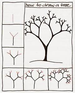 How to draw a tree step by step for Kids - Learn To Draw ...