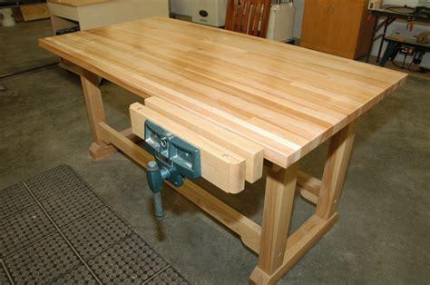 woodworking bench  wilton vise  moosejaw