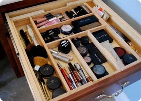 makeup drawer organizer how to organize your makeup like a pro posh