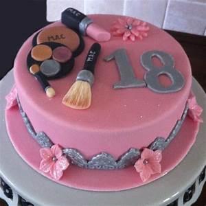 Makeup Cake - CakeCentral com