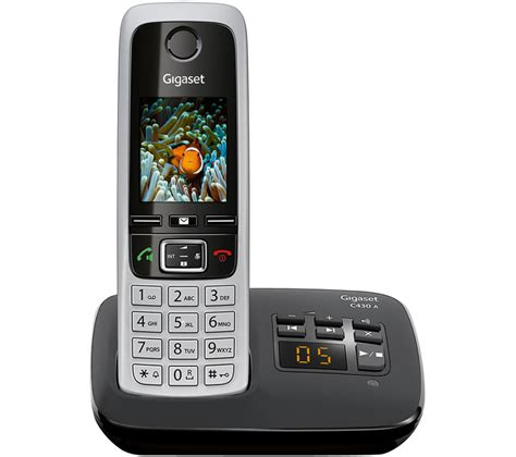 cordless phone with answering machine buy gigaset c430a cordless phone with answering machine
