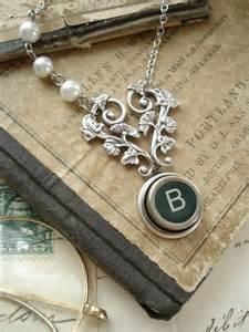 Vintage Typewriter Key Jewelry