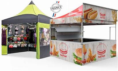 Barnum Pliant Vitabri V3 Commerciale Nomadshop Tente