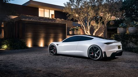 Car Image 2 by Tesla Roadster 4k 2 Wallpaper Hd Car Wallpapers Id 11244