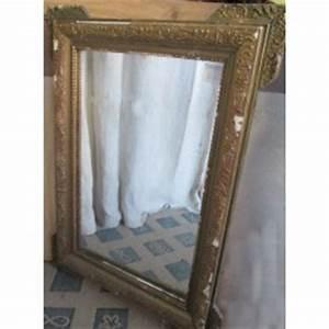 Miroir Doré Ancien : miroirs anciens broc23 ~ Teatrodelosmanantiales.com Idées de Décoration